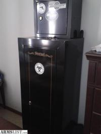 ARMSLIST - For Sale: Sentinel Gun Cabinet with mounted top ...