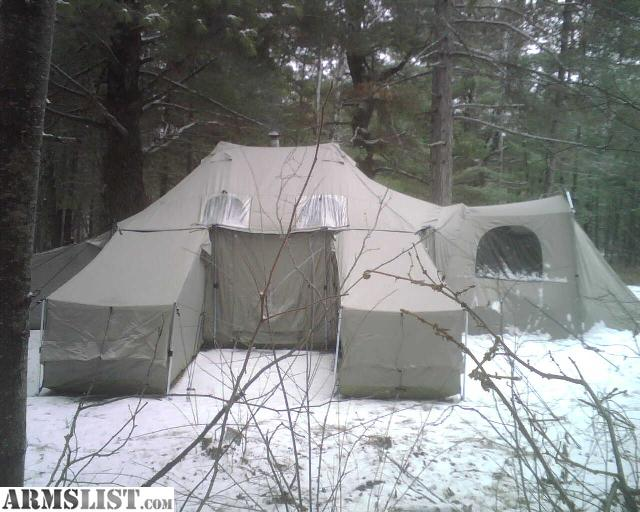 Would You Go Cing In This Tent Mansion From Cabela S & Cabelas Stove Tent - The Best Stove 2017