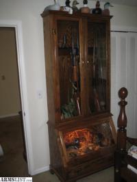 ARMSLIST - For Sale: Custom gun cabinet with locks ...