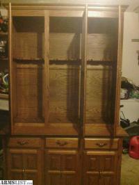 ARMSLIST - For Sale: Handmade Gun Cabinet