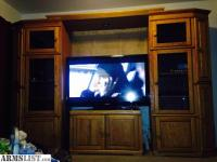 ARMSLIST - For Trade: Beautiful entertainment center and ...