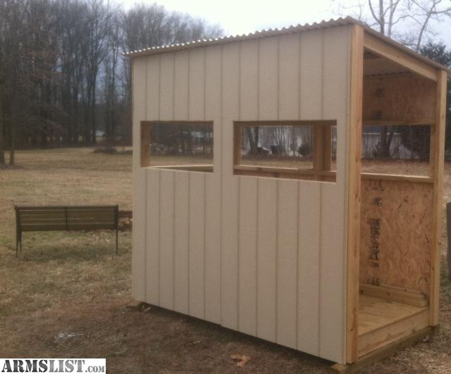 armslist for sale trade deer blind shooting house