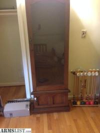 ARMSLIST - For Sale: Wood Gun cabinet