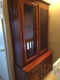 ARMSLIST - For Sale: Handmade Solid Wood Gun Cabinet