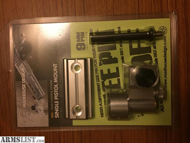 ARMSLIST For Sale Madhouse Design Single Pistol Mount