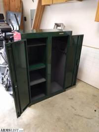 ARMSLIST - For Sale: Stack On Double Door Gun Cabinet