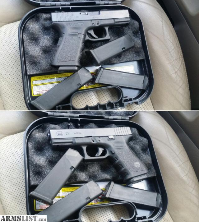 Glock 23 40 Caliber Handguns
