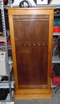 ARMSLIST - For Sale: Pine Gun Cabinet