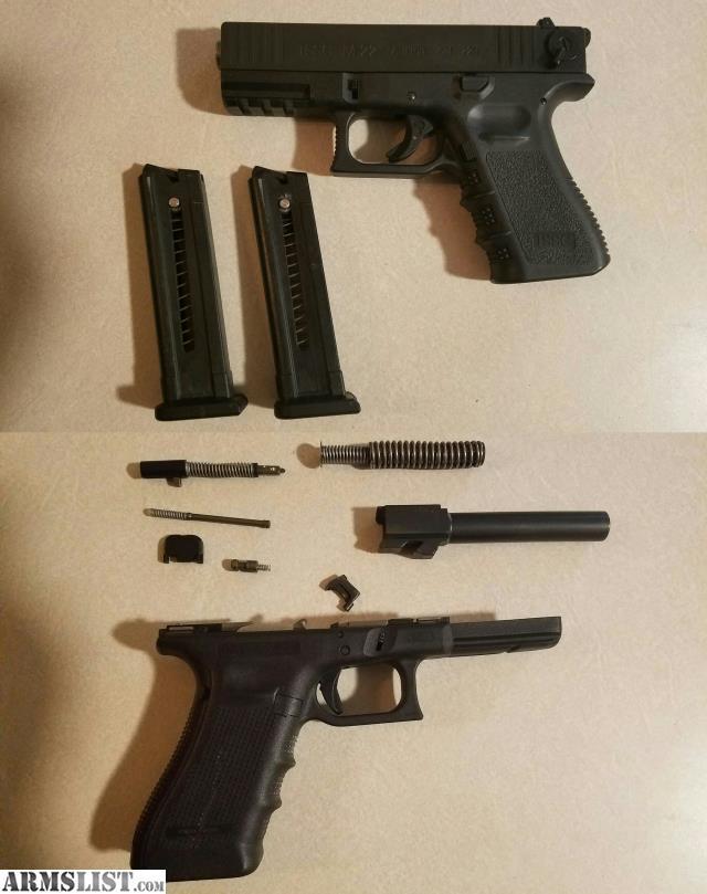 Glock 22 Gen4 Parts Diagram Including Glock Parts Diagram