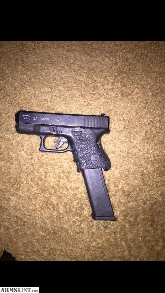 Armslist For Sale Glock 27 40sw Caliber Safe Action Modern Home