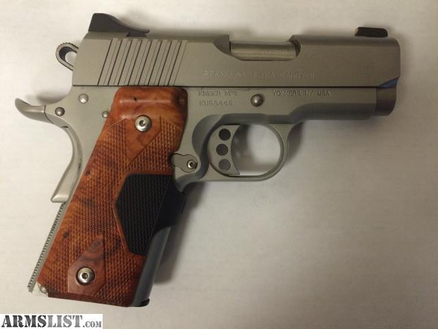 Armslist For Sale New Kimber Rose Gold Ultra Ii 9mm - Modern
