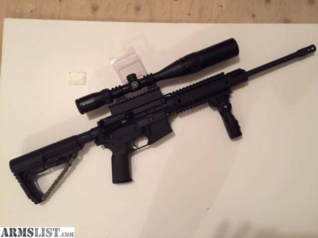 ARMSLIST  For Sale Like New DPMS Oracle 223556 Upgrade