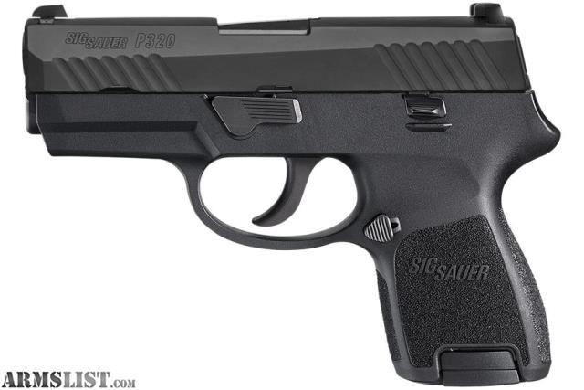 ARMSLIST - For Sale: Sig Sauer P320 Subcompact 9mm Semi Auto Pistol