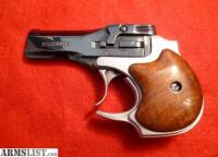 ARMSLIST - For Sale: High Standard Derringer Nickel Finish ...