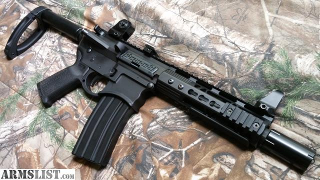 ARMSLIST  For Sale 300 AAC Blackout Billet Pistol