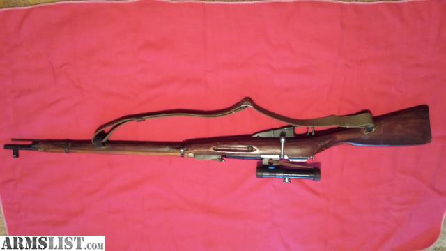 ARMSLIST  For Sale Mosin Nagant 9130 PU Sniper Reproduction