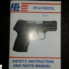 Kel Tec Pf9 Parts Diagram 4 Pin Relay Wiring Armslist For Sale Trade Free To A Good Home Pf 9 Okay I M Hoarder Just Can T Stand Throw Anything Away Cleaning Out My Safe And Found An Old Original Owner S Manual