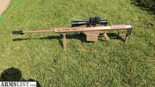 ARMSLIST - For Sale: Barrett M107A1