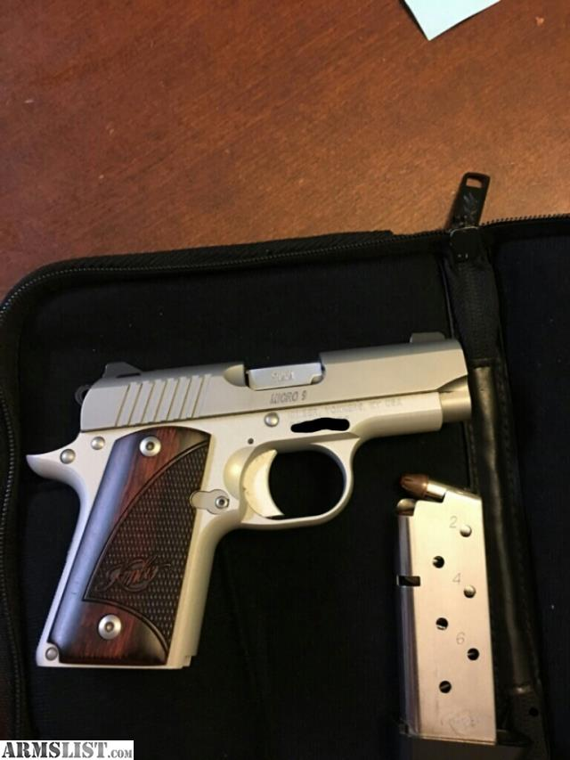 Armslist For Sale Kimber Micro 9mm Two Tone Wlaser - Modern
