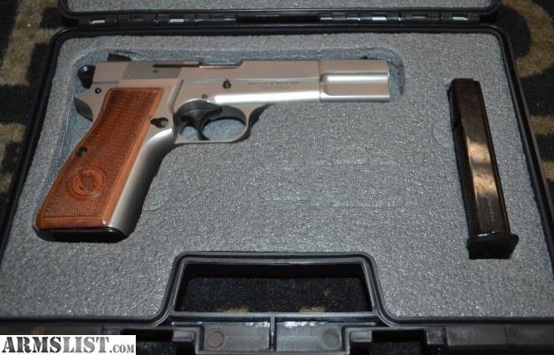 ARMSLIST - For Sale: Tisas Regent BR9 (Hi-Power Clone) 9mm SAO semi-auto pistol!