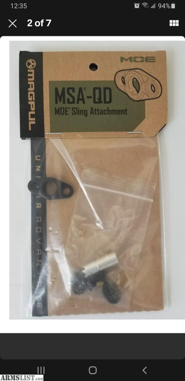 Magpul Moe Sling Mount : magpul, sling, mount, ARMSLIST, Sale:, Magpul, Handguard