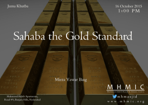 Sahaba_The_Gold_Standard_Part2_Mirza_Yawar_Baig