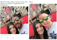 Divertidas ediciones de photoshop del famoso master trol James Fridman,