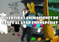 15+ divertidas animaciones de gente al azar en snapchat