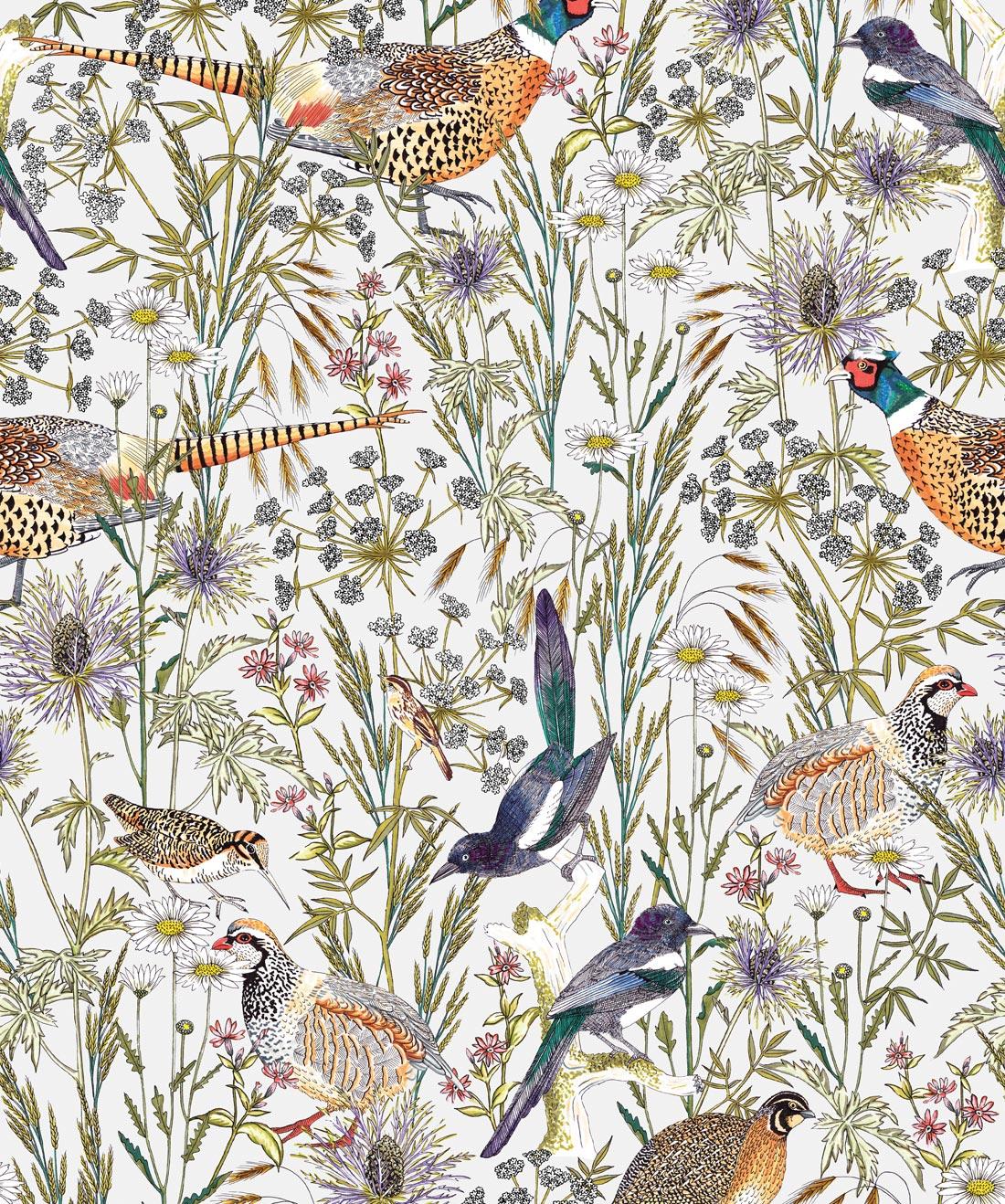 woodland birds lively botanical