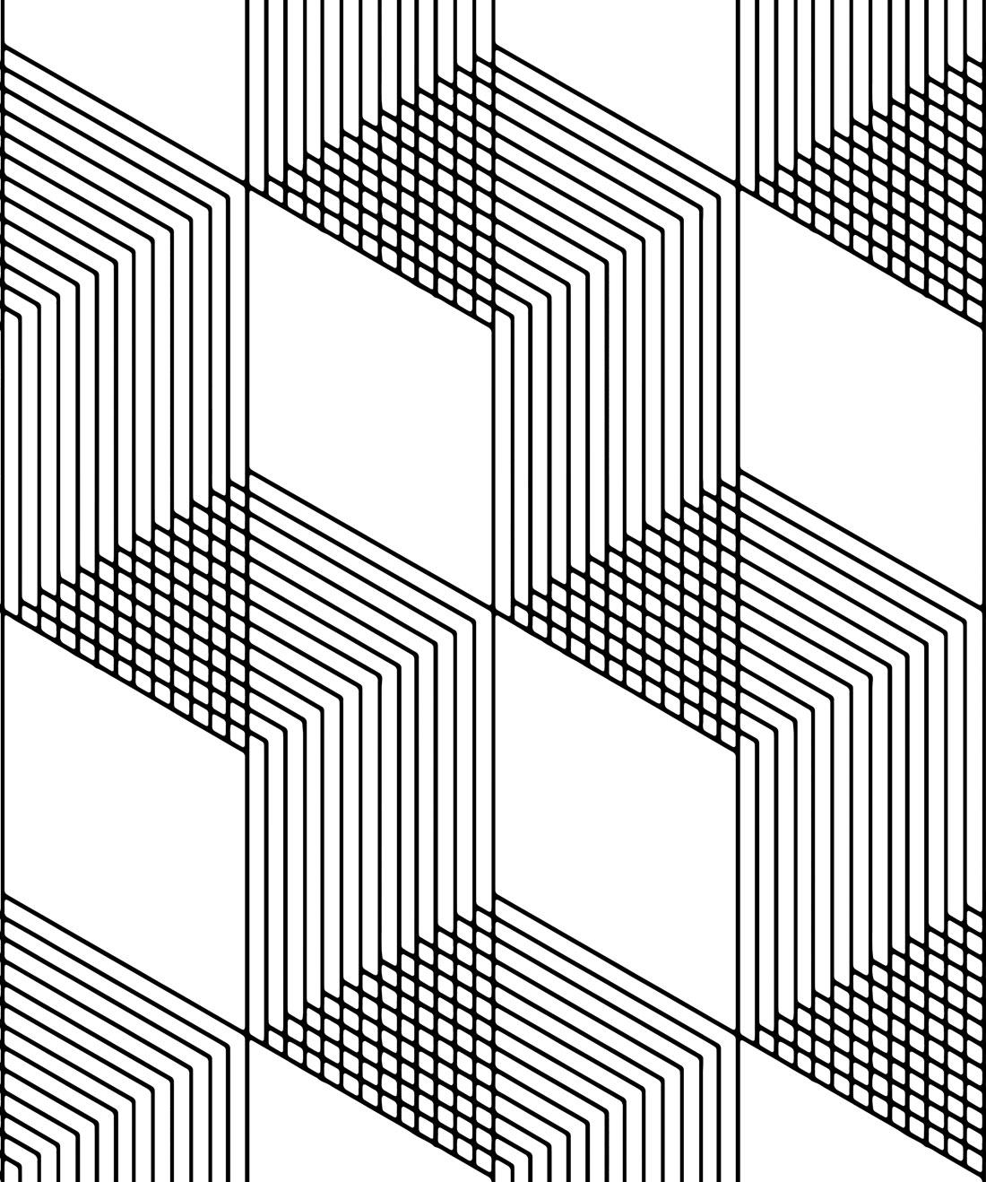 Tile Progress Wallpaper, Simple Tile Herringbone • Milton