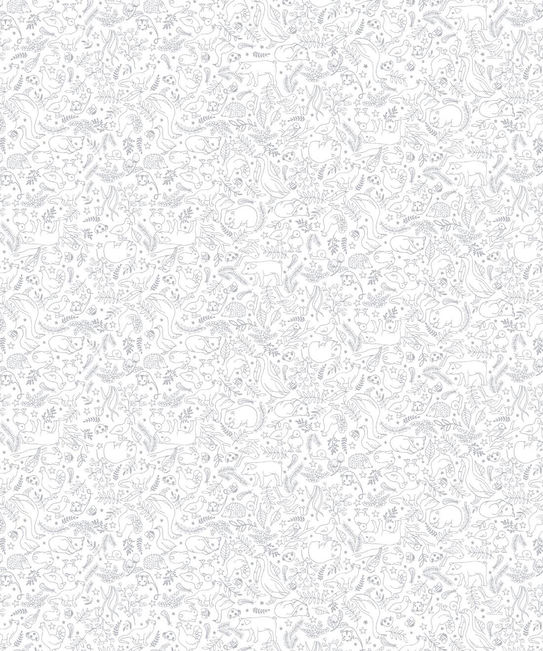 Phonetics Wallpaper • Cute Typographic Alphabet • Milton