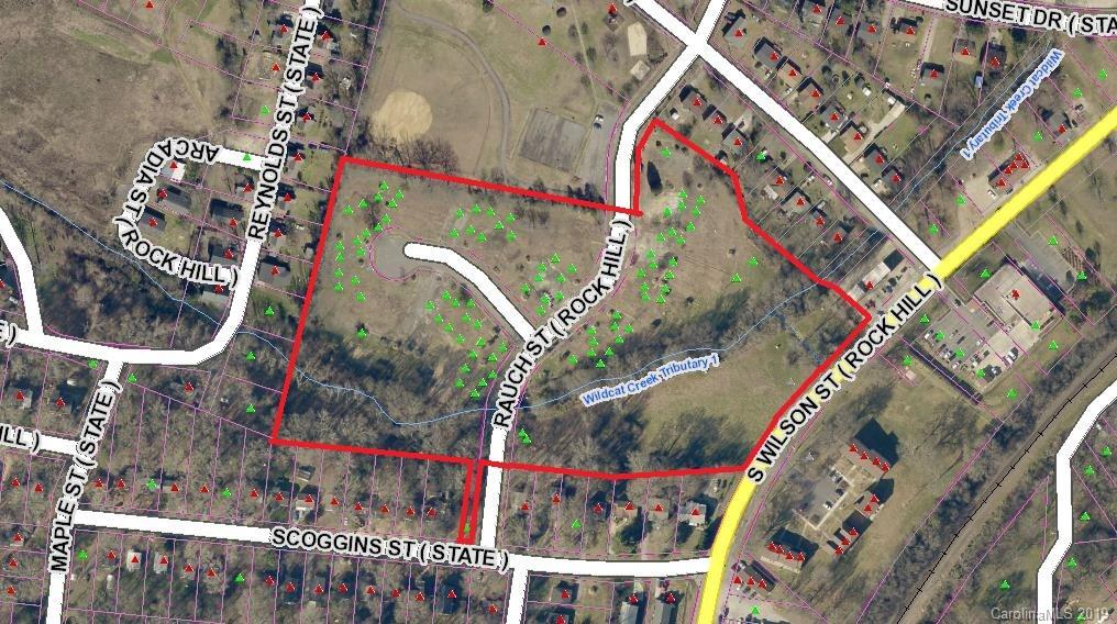 Property for sale at 00 Rauch Street Tract A & B, Rock Hill,  South Carolina 29730