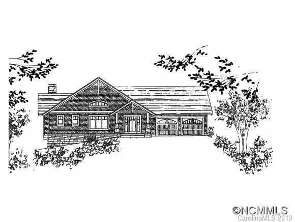 Custom home with plans available for you to build! Main level living. Energy efficient! Gorgeous private gentle sloping lot with long range breathtaking views! Upscale gated community with large clubhouse, playground, walking trails and pristine natural surroundings. Only 5 minutes to grocery store, 8 minutes to downtown Black Mountain & 20 minutes to downtown Asheville. Underground utilities, city water and sewer. This lot was originally worth $300K at peak. Can purchase lot separately and get your own builder. See MLS #