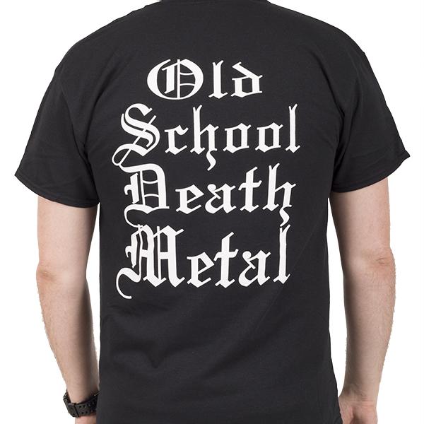 Vital Remains Old School TShirt  Vital Remains