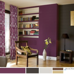 Purple Color For Living Room Family Rooms Interior Design Ideas Grape Juice Red Cabbage Paint Schemes Mochi Home