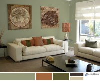 Sage Green Living Room - Home Design