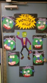 The Monster Mash Halloween Door Decoration for Your Classroom