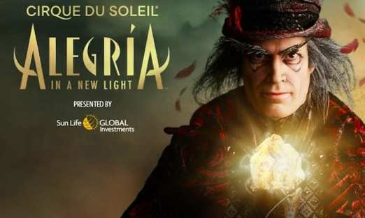 Add a bit of JOY to your day with Cirque's Alegria