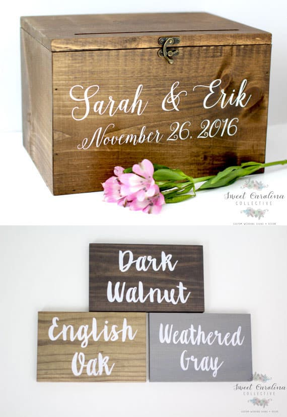 Rustic Card Boxes (Page 1 of 2) | Wedding Products from ...