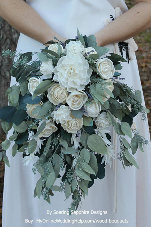 Wood (Sola) Flower Bouquets (Page 1 of 1) | Wedding Products from ...