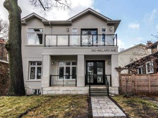 Main Photo: 350 Willard Avenue in Toronto: Runnymede-Bloor West Village House (2-Storey) for sale (Toronto W02)  : MLS® # W4047851
