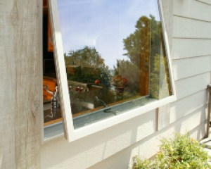 awning window exterior view