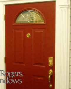 Keyless door lock - Mr Rogers Windows