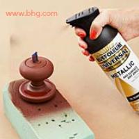 repainting a doorknob