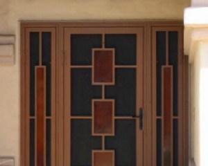 secure screen door