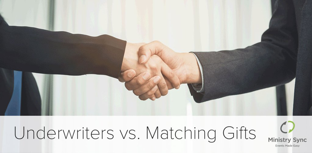 underwriters-vs-matching gifts