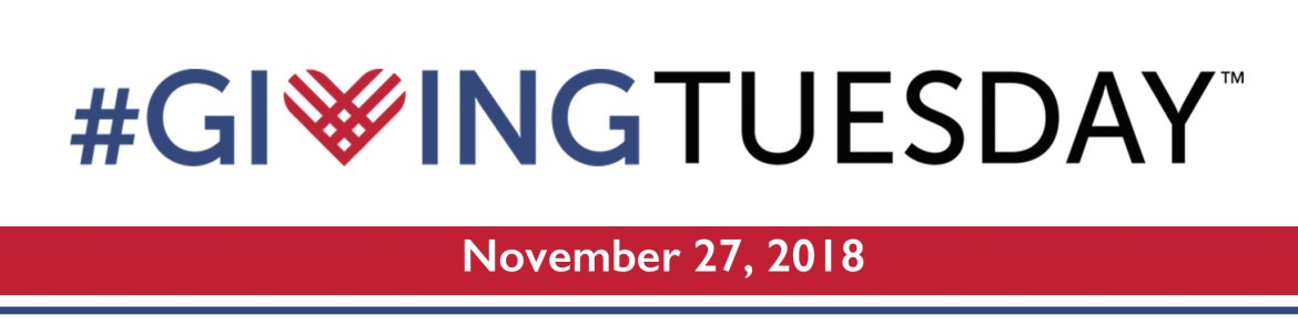 #GivingTuesday2018