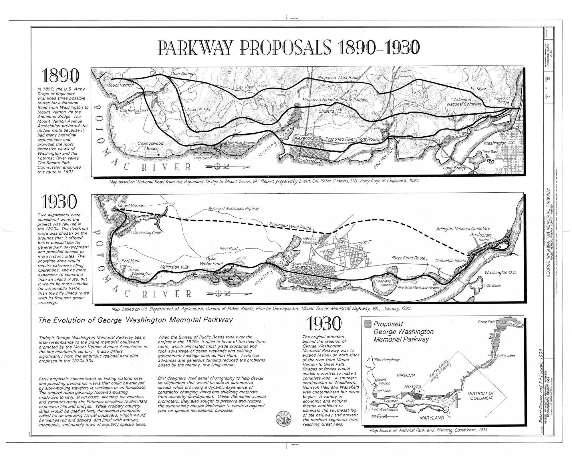George Washington Memorial Parkway George Washington S