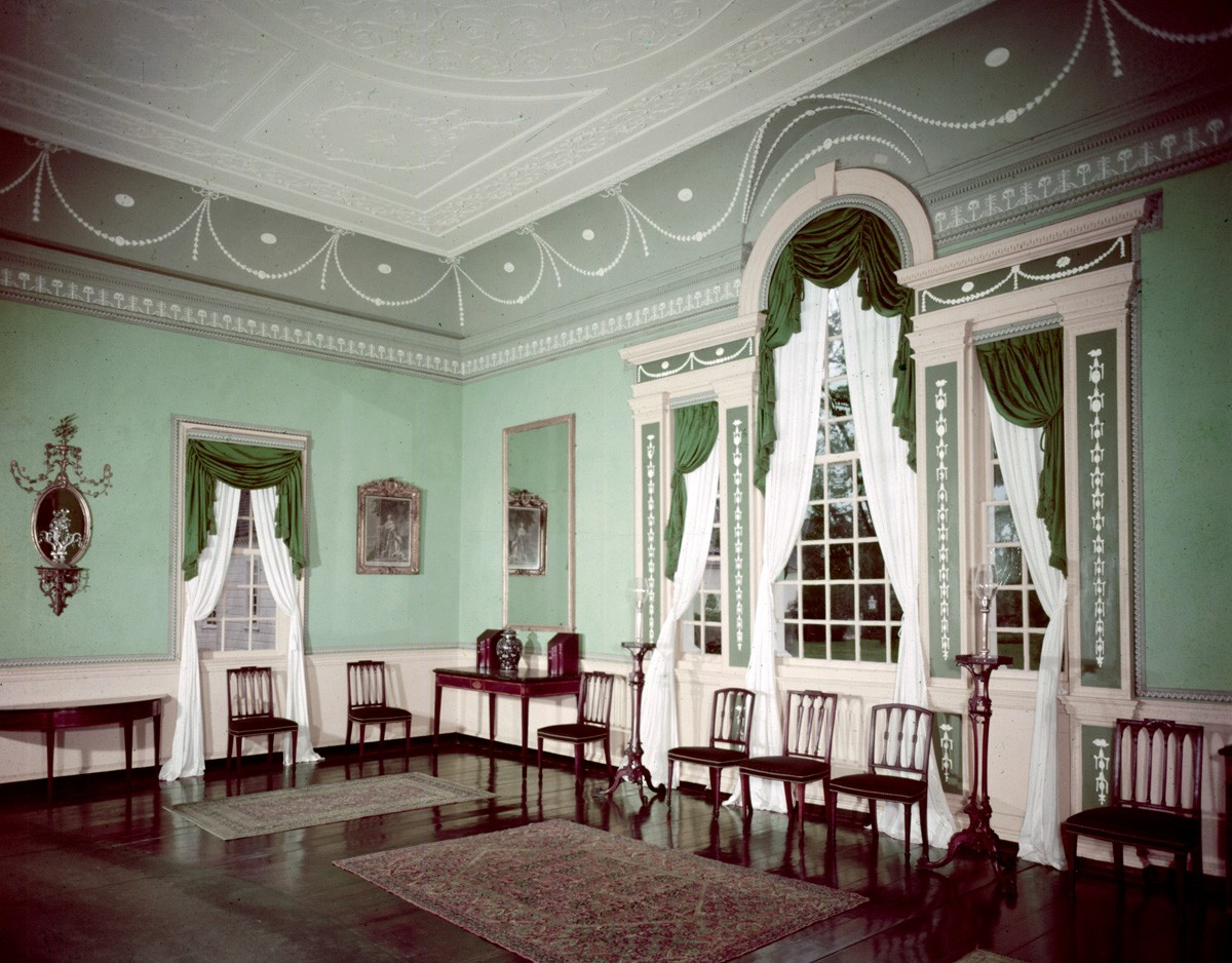 Restoring the New Room  George Washingtons Mount Vernon