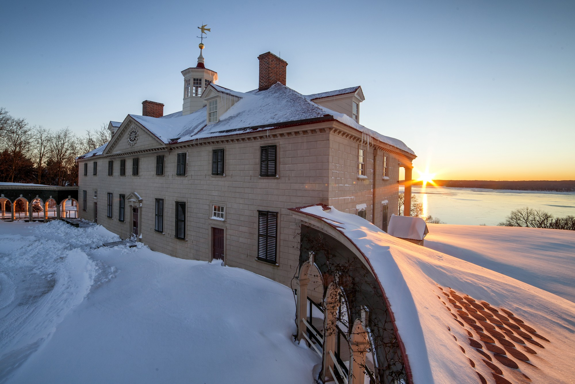 Ten Facts About the Mansion  George Washingtons Mount Vernon
